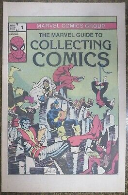THE MARVEL GUIDE TO COLLECTING COMICS (1982) VF-NM Uncirculated! Simonson/Byrne