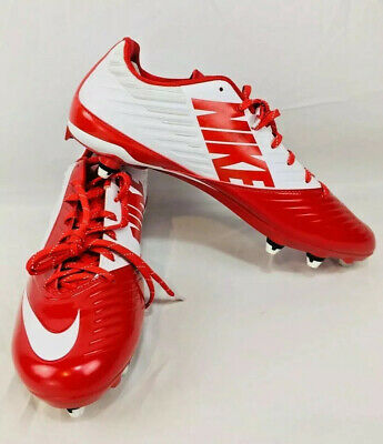 9f012c30704 Nike Men s Vapor Speed Low TD Football Cleats 643160-116 White Red US 14