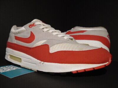 2005 NIKE AIR Max 1 Classic History Of Hoa White Sport Red Grey 313097 161 10.5