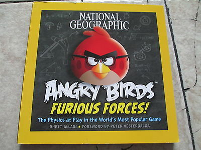 National Geographic Angry Birds Furious Forces ! Physics Paperback Book
