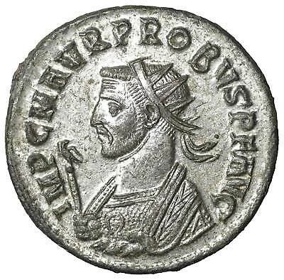 PROBUS Antoninianus old ancient roman silver coin Rome Empire Imperial Authentic