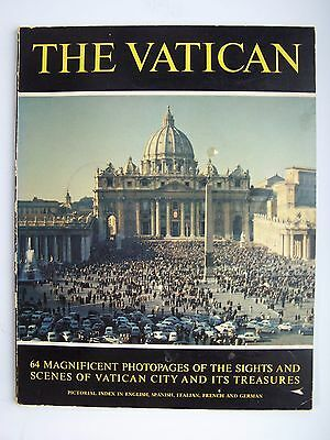 Official Guide Book Vatican Pavilion New York World's Fair 1964-1965 Paperback