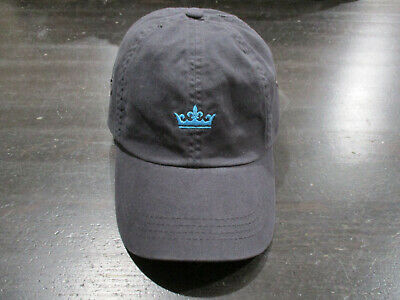 Peter Millar Strap Back Hat Cap Blue Crown Adjustable Baseball Cap Casual  Mens 67fe8c04bdcf