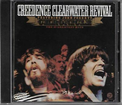 CD - Creedence Clearwater Revival - Chronicle 20 Greatest Hits (Canada) - New