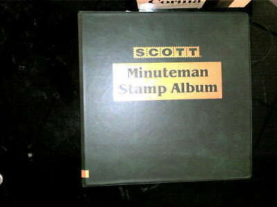Us Collection In Scott Album, 1800's On, Mint/used