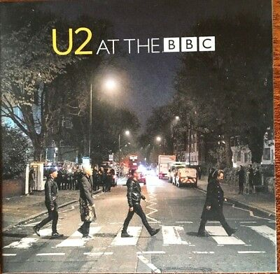 """U2 """"at The Bbc"""" Rare Double Cd/dvd Live 2017 Neuf !"""