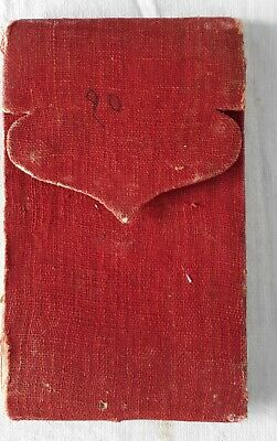 India Old Intresting Sanskrit Hand Written Manuscript. 18 Leaves,36 Pages