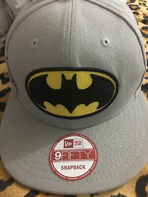wholesale dealer eda9e 1004c Batman DC Comics Justice League Snapback New Era 9Fifty 950 Hat Cap