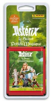 Lot 40 Stickers Astérix Le Secret De La Potion Magique Panini  - Neuf