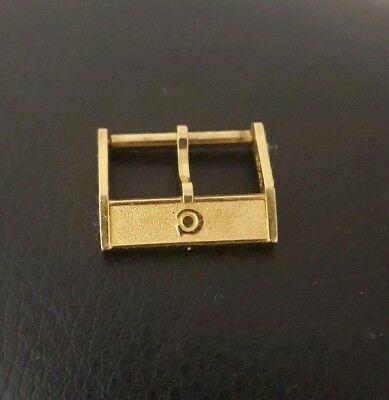 Vintage Men's CYMA Gold 16mm Watch Buckle UNROC Plaque G 10 Microns SWISS MADE