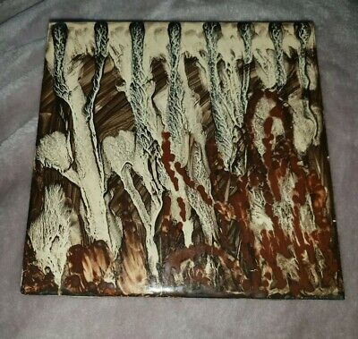 Superb Vintage Rare One Of A Kind Carter Trial Tile Handpainted By Phylis Butler