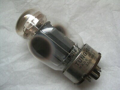 6550 Tung-Sol Power Amplifier Tube, 3226248-3 Smooth grey plates 1961