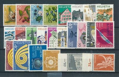 [31370] Switzerland Good lot Very Fine MNH stamps