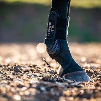 Fully Breathable The HUSK /'Pure/' 3D Shield Air Target Brushing Boot