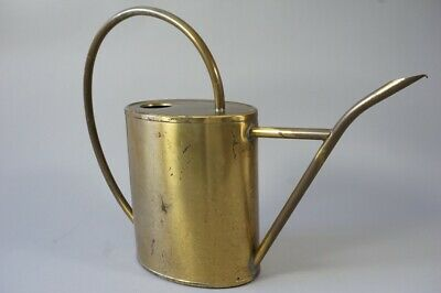 Gießkanne Messing Midcentury Watering Can brass 1950er Jahre 1.Z