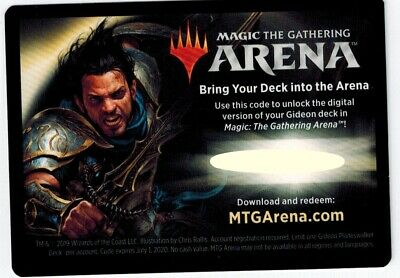 GIDEON THE OATHSWORN Planeswalker Deck ARENA CODE (Fast Email Delivery)