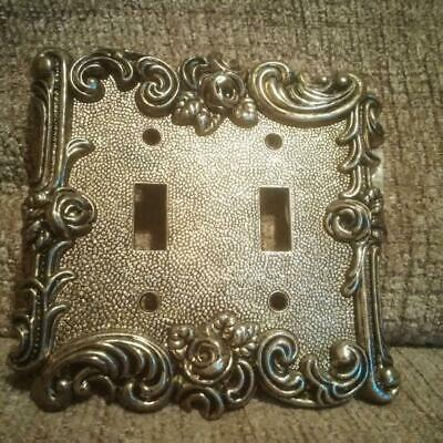 Beautiful Vintage 1967 American Tack & Hardware Switch Plate with Screws #60TT