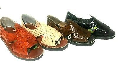 Authentic Mexican Huarache Sandals. Men's Leather Sandals. Huaraches Mexicanos