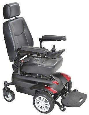 Drive Medical Titan Front Wheel Drive Electric Power Chair Mobility Wheelchair