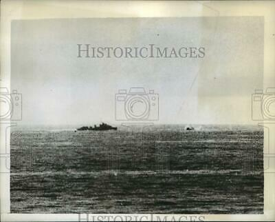 1942 Press Photo British Destroyer Ithuriel during the Malta Convoy Battle