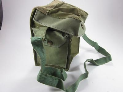 Wwii Ww2 Respirator Pouch Bag Carrier 1943 Original Britain Australia Canada Nos