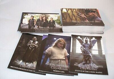 The Mortal Instruments CITY OF BONES Complete Trading Card Set