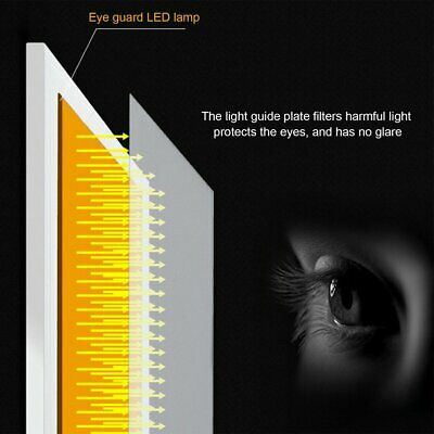 K02 A4 Paper Size Copying Board Ultra Thin LED Luminous Portable Painting Pad ES