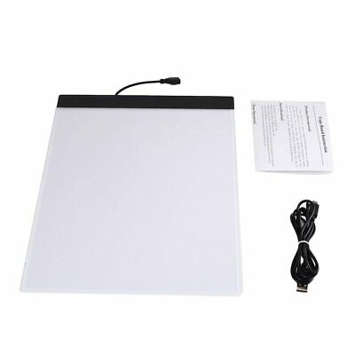 K02 A4 Paper Size Copying Board Ultra Thin LED Luminous Portable Painting Pad HC