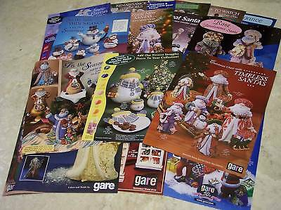 Gare Ceramic Mold Technique Sheets Holiday (10) Assortment