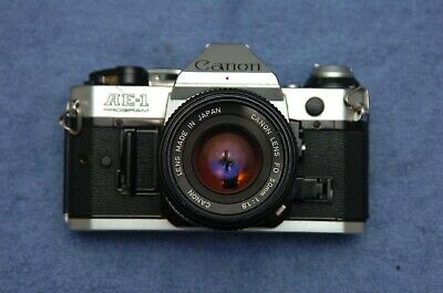 Canon AE1 Program with 50mm f1.8 lens