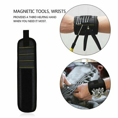 Magnetic Wrist Support Band with Strong Magnets for Holding Screws NailPU#