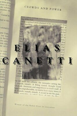 Crowds And Power (Peregrine Books) by Canetti, Elias Paperback Book The Cheap