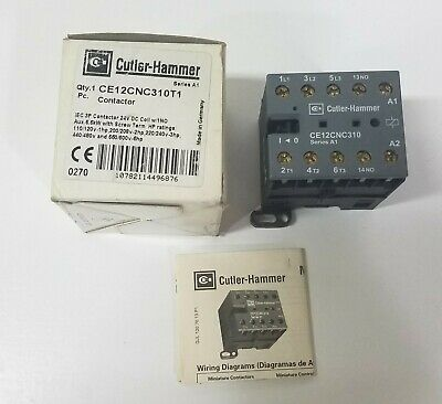 EATON Cutler-Hammer CE12CNC310T1 Contactor 24V ~ New In Box