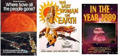 Where Have All The People Gone? 1974 Last Woman On Earth 1958,in The Year 2889
