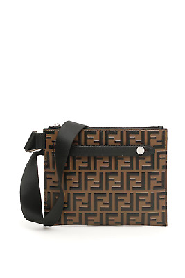 600f151eac Fendi ff messenger bag 7VA437 A4K5 Maya Nero Palladio - Authentic