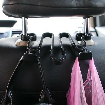 Universal Car Seat Headrest Hanger Bag Hook Holder for Bag Grocery Auto Clip CO