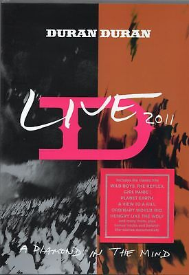 Duran Duran - Live 2011 (A Diamond in The Mind) DVD (Live Manchester MEN Arena)