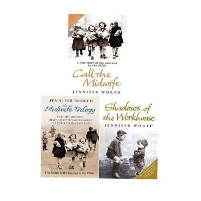 Shadows of the Workhouse Stories By Jennifer Worth 3 Books Collection Paperback