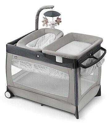 Chicco Lullaby Newborn Napper Bassinet Playard & Changing Station Nottingham