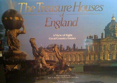 Treasure Houses of England: A View of Eight Country Estates by Beesley, Earl A.