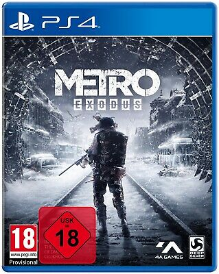 Metro Exodus Day One + Theme + Poster / Guide - PS4 Playstation 4 - NEU OVP