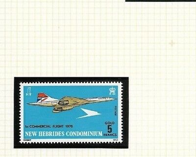 New Hebrides (GB) 1976 Concorde issue MNH