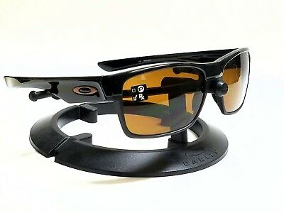 6c14d60eff1 New Authentic OAKLEY TWOFACE OO9189-03 Polished Black Dark Bronze Sunglasses