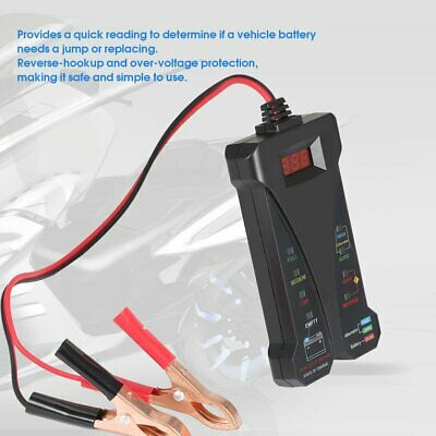 Portable 12V Digital Battery Tester Charging System Analyzer With LED Display ★★