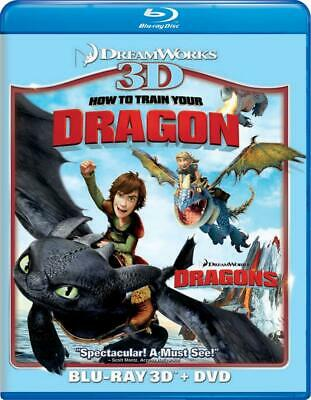 How To Train Your Dragon [Blu-ray 3D + DVD] (Bilingual)