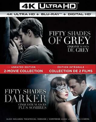 Fifty Shades of Grey / Darker 2-Movie Collection [Blu-ray] (Sous-titres...
