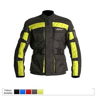RST Alpha 3 Waterproof Touring Textile Motorcycle Jacket - FLO SMALL 40  Chest