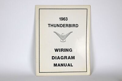 1963 ford thunderbird wiring diagram manual