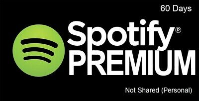 Personal Premium Spotify Account 60 Days **2 months**