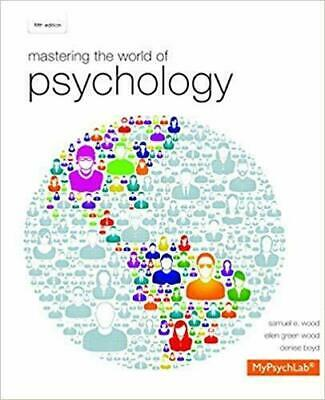Mastering the World of Psychology 5 th edition (EB00K)